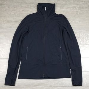 Lululemon Black Zip Up Jacket Womens 10-12
